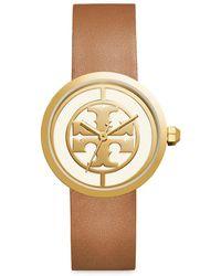 Tory Burch Reva Gold-tone Watch - Metallic