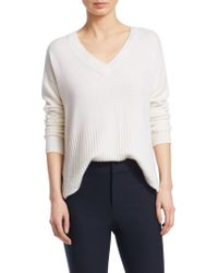 10 Crosby Derek Lam - Core V-neck Cashmere Sweater - Lyst