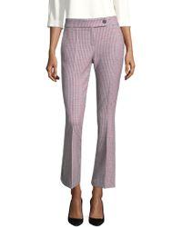 BOSS - Alenera Flared Dress Pants - Lyst