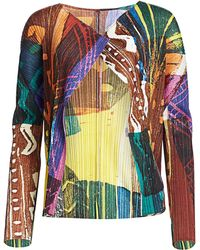 Pleats Please Issey Miyake Swinging Spices Jacket - Multicolour