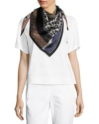 Lafayette 148 New York - Patchwork Cotton Scarf - Lyst