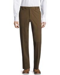 Zanella - Flat-front Wool Trousers - Lyst