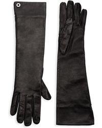 Loro Piana - Long Leather Gloves - Lyst