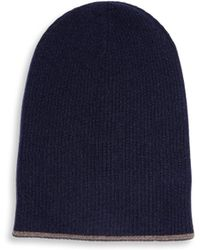 Brunello Cucinelli - Reversible Cashmere Hat - Lyst