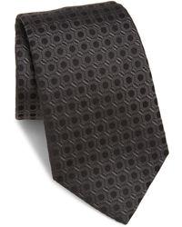 Armani - Patterned Silk Tie - Lyst