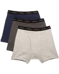 Saks Fifth Avenue Collection 3-pack Boxer Briefs - Gray