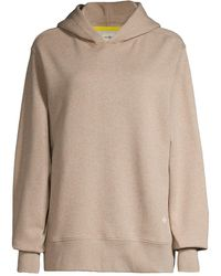 Tory Burch Relaxed French Terry Hoodie - Multicolor