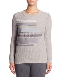 Stizzoli - Classic-fit Knitted Sweater - Lyst