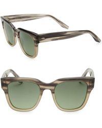 Barton Perreira - Bunker 50mm Square Sunglasses - Lyst