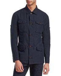Brunello Cucinelli - Cotton Safari Shirt Jacket - Lyst