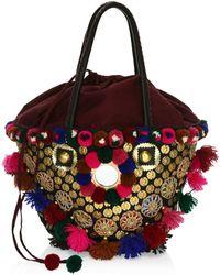 Figue - Frida Tuk Tuk Embellished Top Handle Bag - Lyst