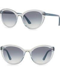 d9d0a1c934 Lyst - Prada Cat s-eye Sunglasses in Brown