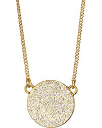 Vita Fede - Juno Swarovski Crystal Pendant Necklace - Lyst