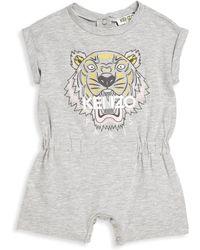 KENZO - Baby's Tiger Printed Romper - Lyst