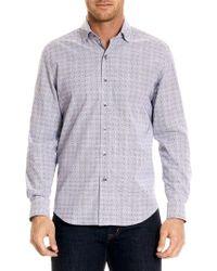 Robert Graham - Miles Button-down Print Shirt - Lyst