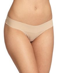 Hanky Panky - Bare Eve Natural-rise Thong - Lyst