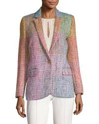 ESCADA - Baurent Wool-blend Tweed Blazer - Lyst