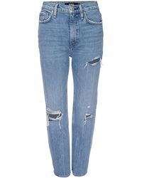 Hudson Jeans Holly High-rise Cropped Bootcut Jeans - Blue