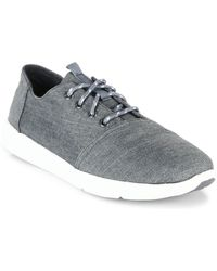 TOMS - Del Rey Canvas Trainers - Lyst