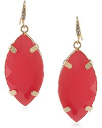 ABS By Allen Schwartz - Sun Daze Drop Earrings - Lyst