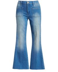 Sass Bide The Paradox Flare Jeans In Blue Lyst