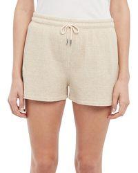 Theory Drawstring Shorts - Natural