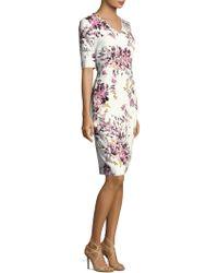 ESCADA - Dnila Floral-print Dress - Lyst