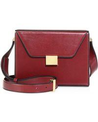 Victoria Beckham - Vanity Leather Crossbody Bag - Lyst