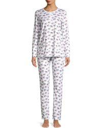 Roberta Roller Rabbit - Party Animal Pajama Set - Lyst