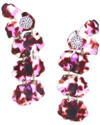 Lele Sadoughi - Petal Drop Earrings - Lyst
