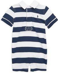 Ralph Lauren - Baby Boy's Cotton One-piece - Lyst