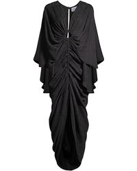 Significant Other Hamilton Ruched Gown - Black