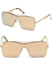 Web - 134mm Shield Square Sunglasses - Lyst