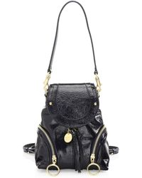 See By Chloé - Mini Olga Leather Backpack - Lyst