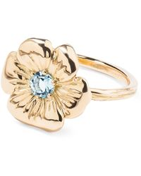 Aurelie Bidermann | Floral Pansy Ring | Lyst