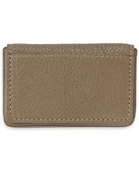 9b1436e6c52a9e Graphic Image - Magnetic Leather Card Case - Lyst