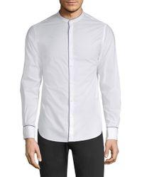 Officine Generale - Gaspard Cotton Poplin Shirt - Lyst