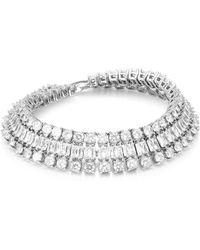 Fallon Double Diamante Crystal Bracelet - Multicolour
