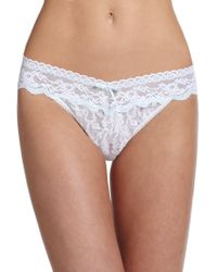 Hanky Panky - Annabelle Original-rise Lace Bridal Thong - Lyst