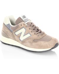New Balance - Miusa Suede Low-top Trainers - Lyst