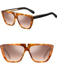 Givenchy - 58mm Square Sunglasses - Lyst