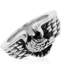King Baby Studio - American Eagle Sterling Silver Ring - Lyst