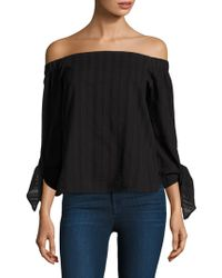 Bailey 44 - Yarrow Off-the-shoulder Cotton Top - Lyst