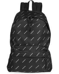 Balenciaga - Logo Explorer Backpack - Lyst
