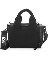 Lyst - Y-3 Y3 Men s Yohji Messenger Bag in Black for Men 5d0f69d1abece