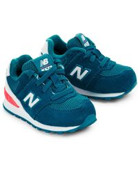 New Balance - Baby's Lace-up Suede Trainers - Lyst