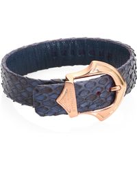 Stinghd - Luxe Handcrafted Python Bracelet - Lyst