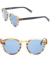 Web - Round Tinted Sunglasses - Lyst