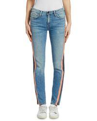 Sandrine Rose - Hyde Tuxedo Stripe Skinny Jeans - Lyst