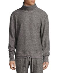 Twenty - Heathered Turtleneck Sweater - Lyst